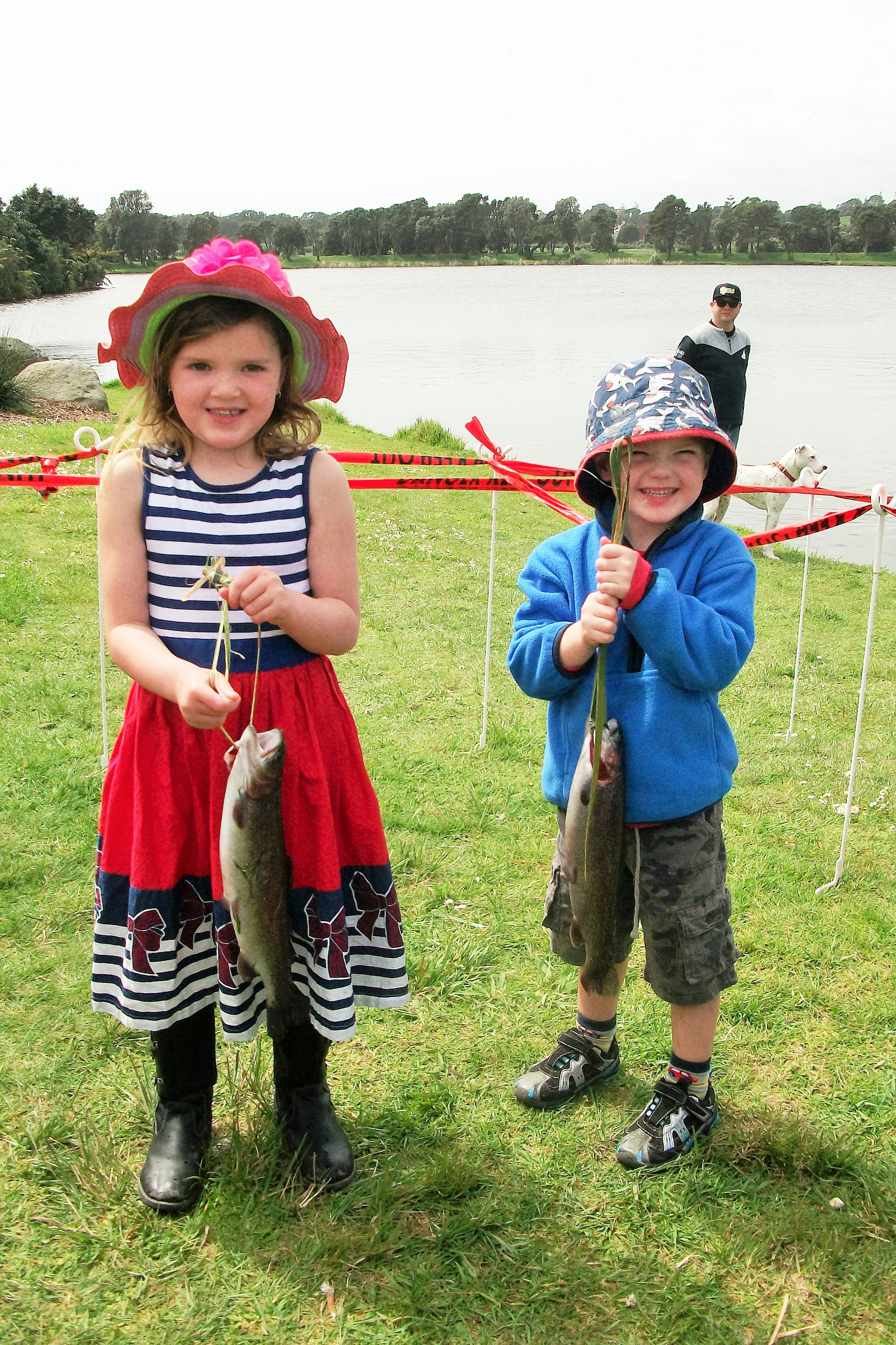 Fish out events are a great way to get kids hooked on trout fishing