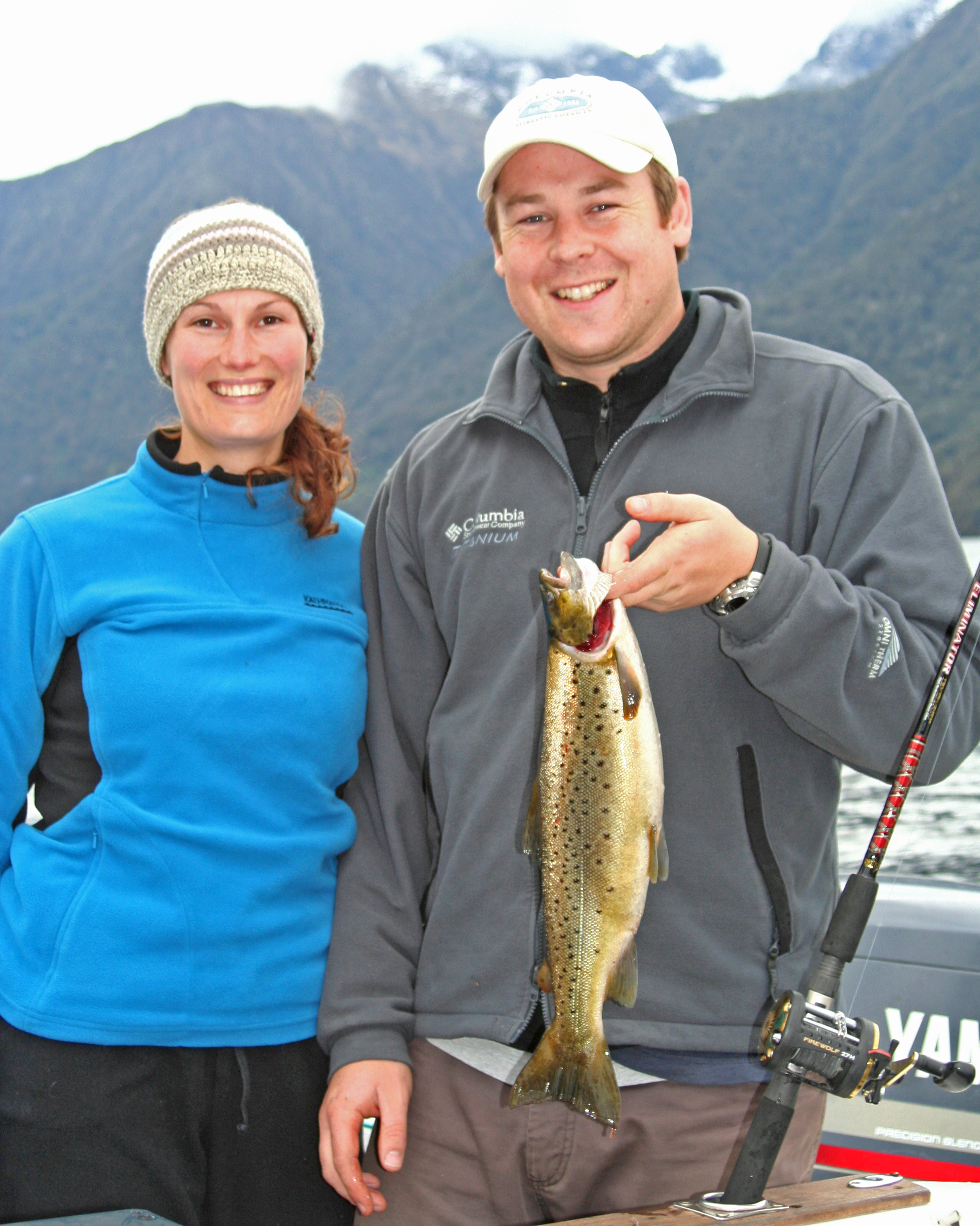 Lake Te Anau trolling brown trout2