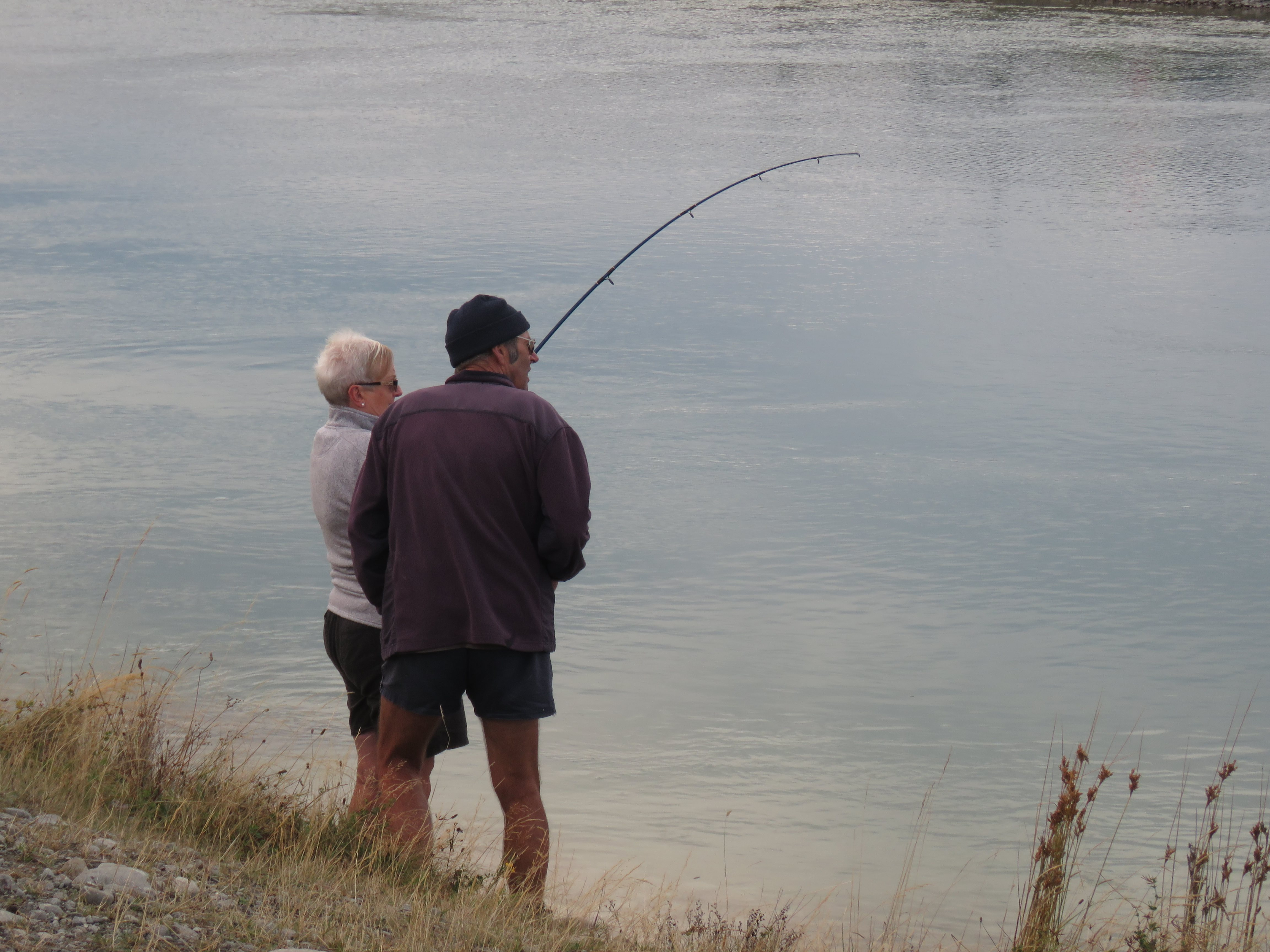 RL APRIL 2019 CSI Fish On at the Tekapo Canal Credit R Adams