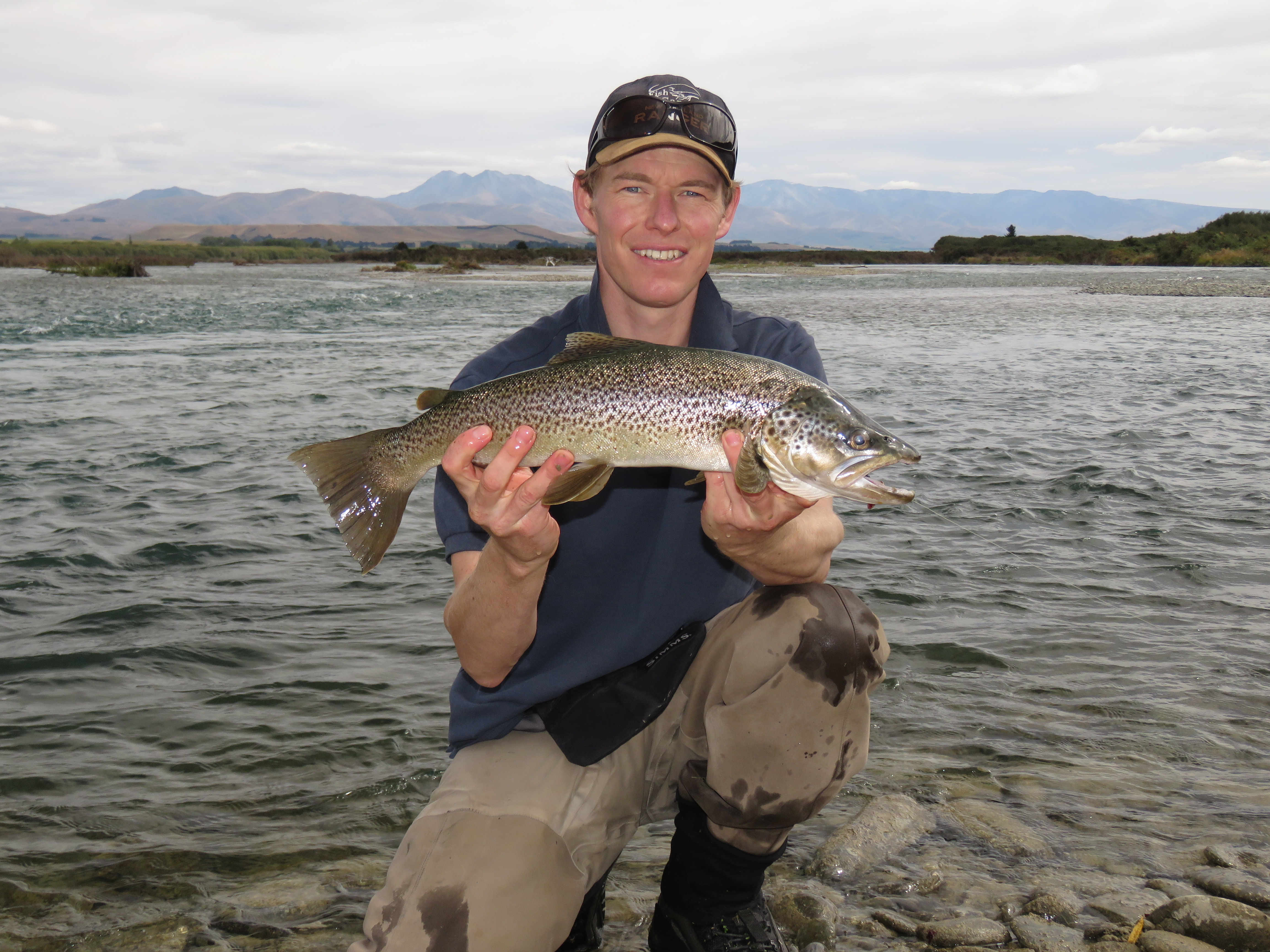 WFR1920.06 Find good Waitaki water and you will find good Waitaki fish Credit R Adams