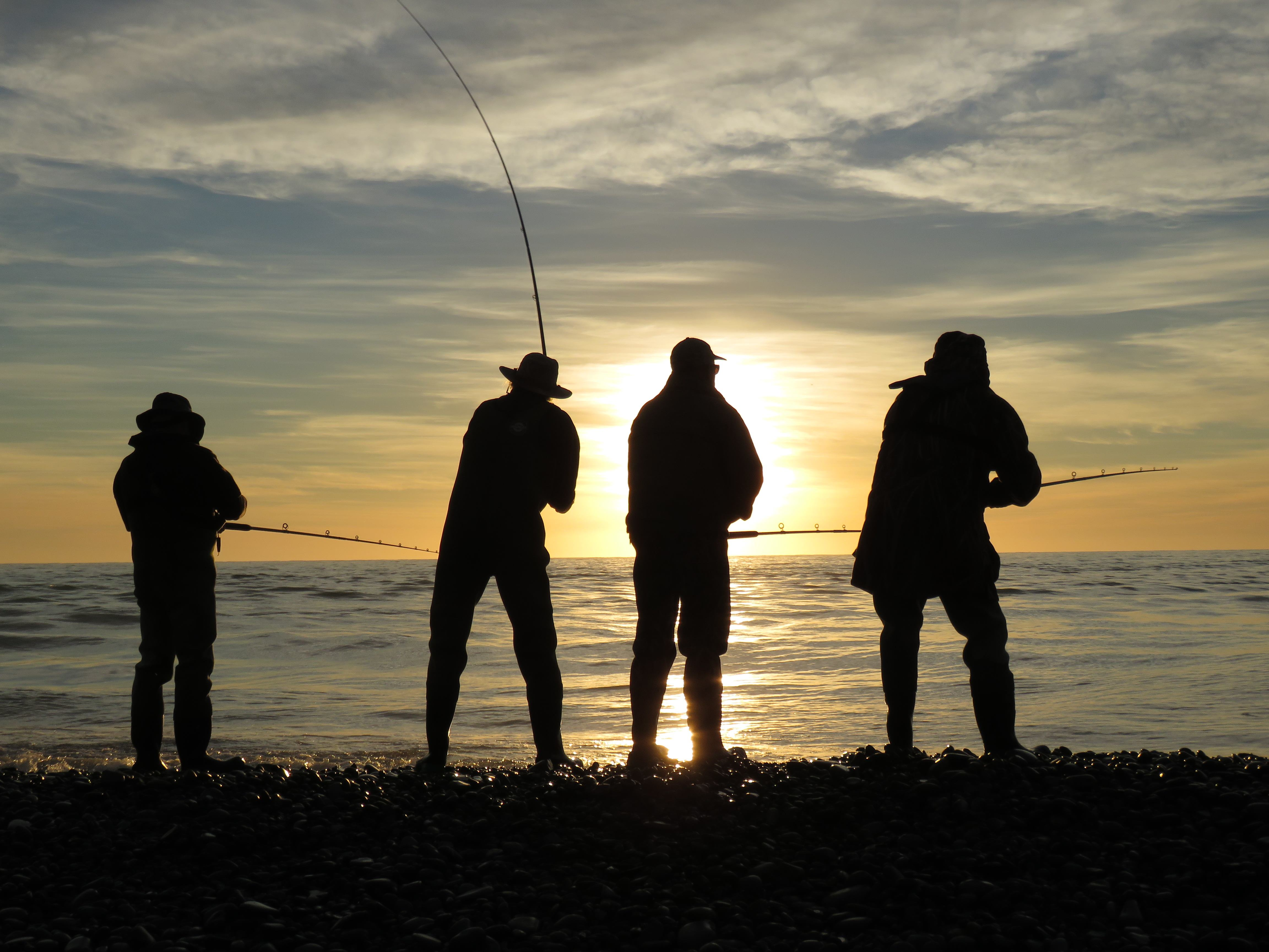 WFR1920.25 the sun will rise on a new look sea run salmon season on Sunday the 1st of December Credit R Adams