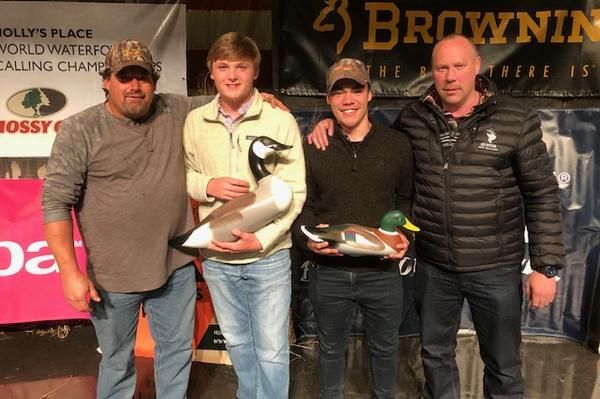 Kiwi calls in the crowd and wins world duck calling champs