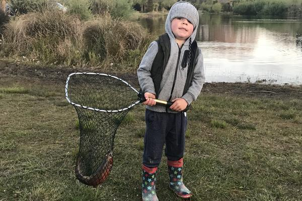 Fishing report for the North Canterbury Region Friday 19th October 2018
