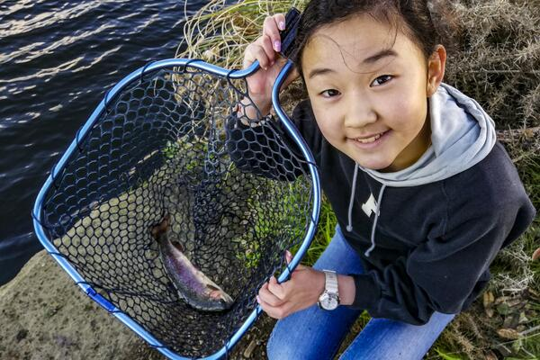 Amazing fishing opportunities at Lake Pupuke