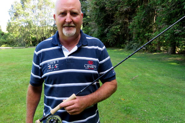 Dairy farmer's 'pretty special' trout rod from Fish & Game