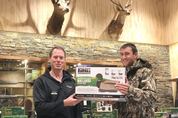 Hunters 'win big time' for sending in duck band details