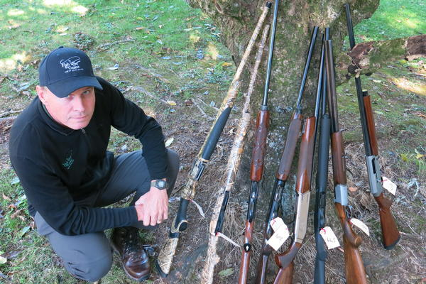 Fish & Game officers seize eight shotguns in Bay of Plenty