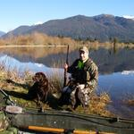 Nice day for hunting in the West Coast Region. Photo from R Caldwell