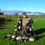 A successful day's hunting, West Coast Region. Photo from Tom Tolliver