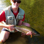 This was the first sighted fish i ever caught on the Tutaekuri river in Hawkes bay (4lb) Photo from Andrew Roberts