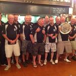 hi guys as you will note this photograph is not about a catch, the picture is the New Zealand coarse angling team, with the Trans Tasman trophy. The competition was held in the lower Waikato area the 18 person teams fished on 19&20 February, NZ winning by one point overall, the closest margin in 24years. the TT championship winner was Matthew Sellen from the Auckland club NZ. Photo from Stuart Stevenson