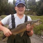 Nice 5 pounder from the wairarapa Photo from caleb