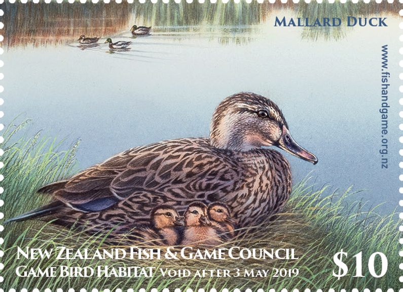 2018 Gamebird Stamp 002