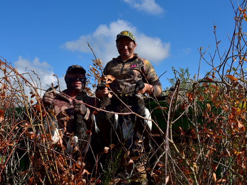 Eastern release Young hunters at Rerewhakaaitu.