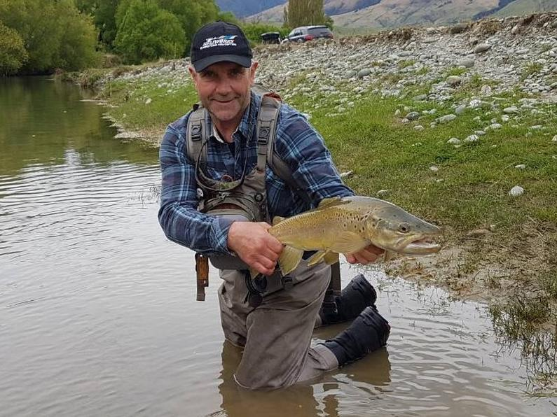 Sou 1 Graeme with trout