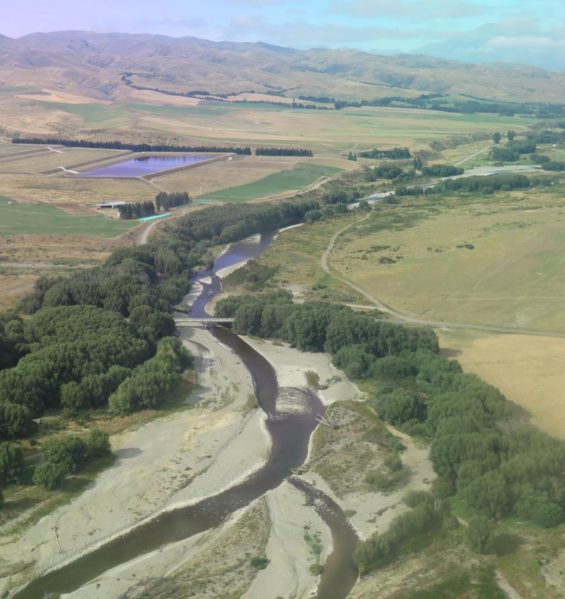 WFR1819.40After a wet summer the Hakataramea River is still holding flow at Wrights Crossing credit R Adams