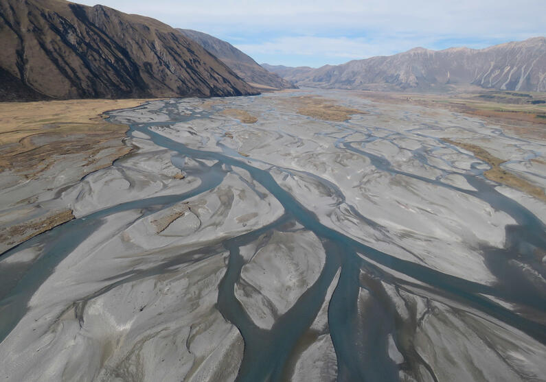 WFR2021.48 the upper reaches of the Rangitata River and its tributaries closes for sea run salmon on Sunday 28 February Credit Rhys Adams