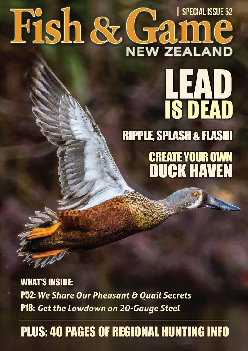 cover no bleed Duck 21 FishandGame