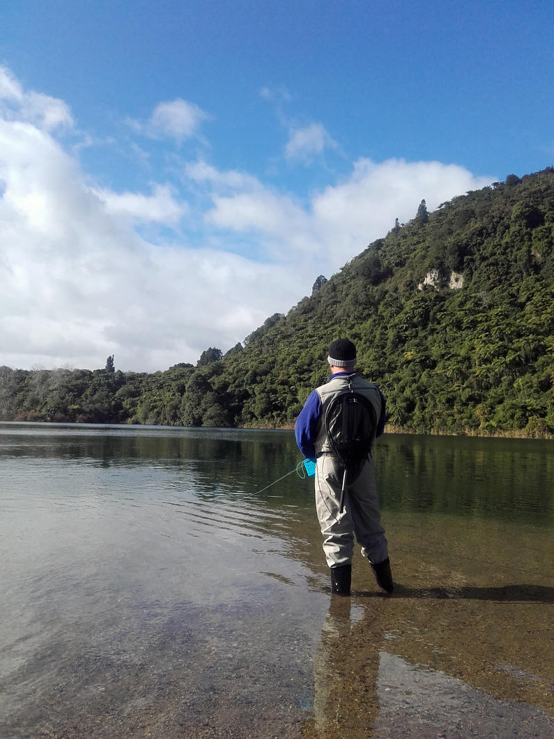 eastern RL March 2019 Autumn fly fishing Lake Tarawera