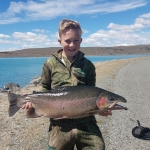 18lb caught at Tekapo canal